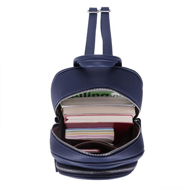 b02716772463 DAVIDJONES Women Backpack Female Teenager School Bag