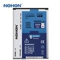 Nohon batería 3200 mah de alta capacidad para samsung galaxy note 3 note3 n9000 n9006 n9005 con nfc mejor calidad