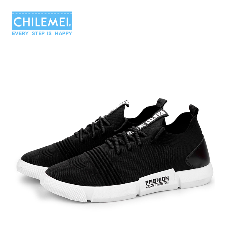 2018 Mens Shoes Summer Breathable Shoes Mens Mesh Fly Woven Sneaker Korean Version Of The Trend Of Wild Mens Casual Travel
