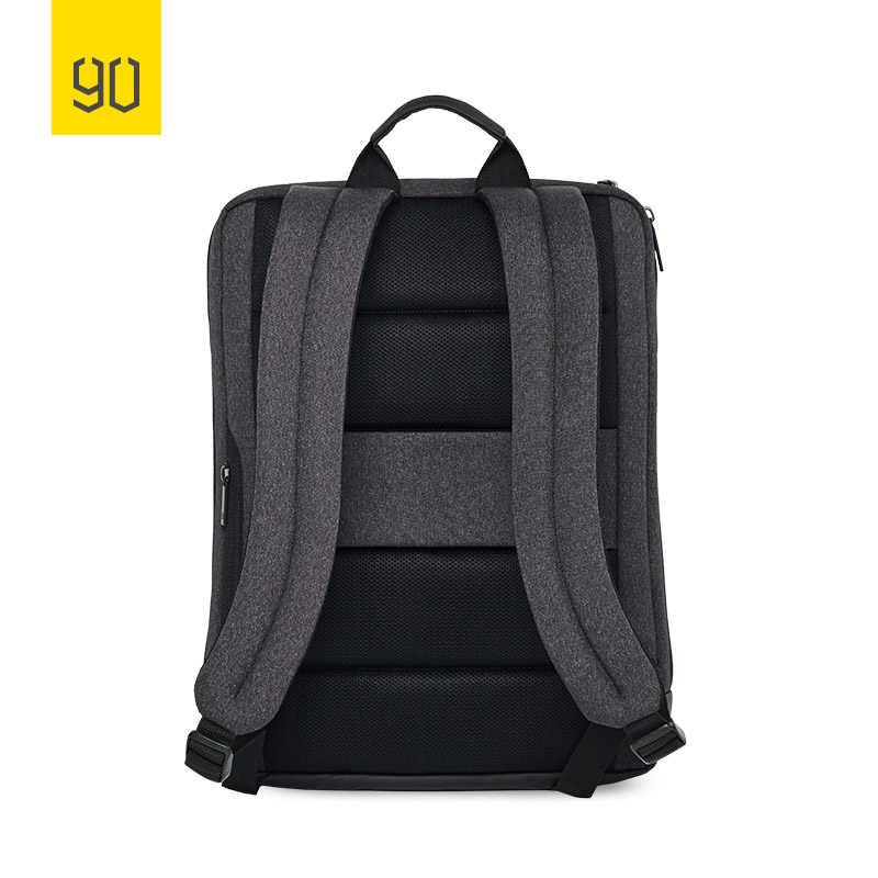 NINETYGO 90FUN الكلاسيكية حقيبة ظهر للعمل سعة كبيرة ل 15 بوصة حقيبة لابتوب Daypack مدرسة السفر الرجال النساء صبي فتاة