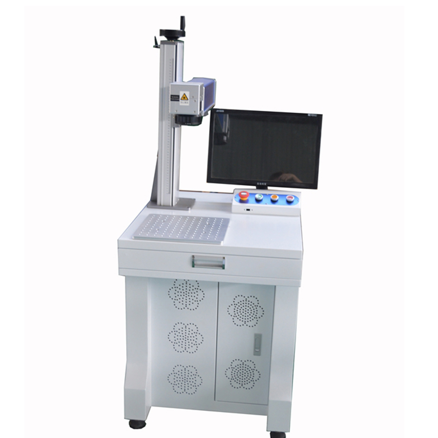 JIN ZHI YIN 30W Desktop Fiber Laser Marking Machine TS-30G  With CE,FDA Certification