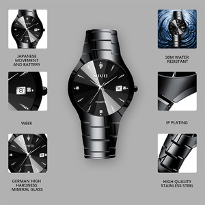 Image 5 - Relogio Masculino CIVO Mens Watches Top Brand Luxury Waterproof Analogue Date Wristwatch Women Mens Quartz Watch For Men Clock