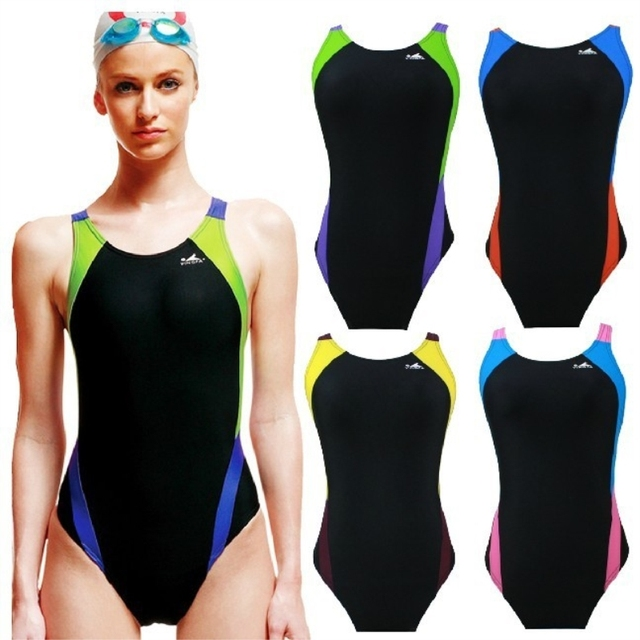 c80d1c2bff1 Professional Women Swimwear Lady One Piece Swimsuits Tight Women's Bathing  Suits Racing Competition Sexy Girl Leotards Bodysuits