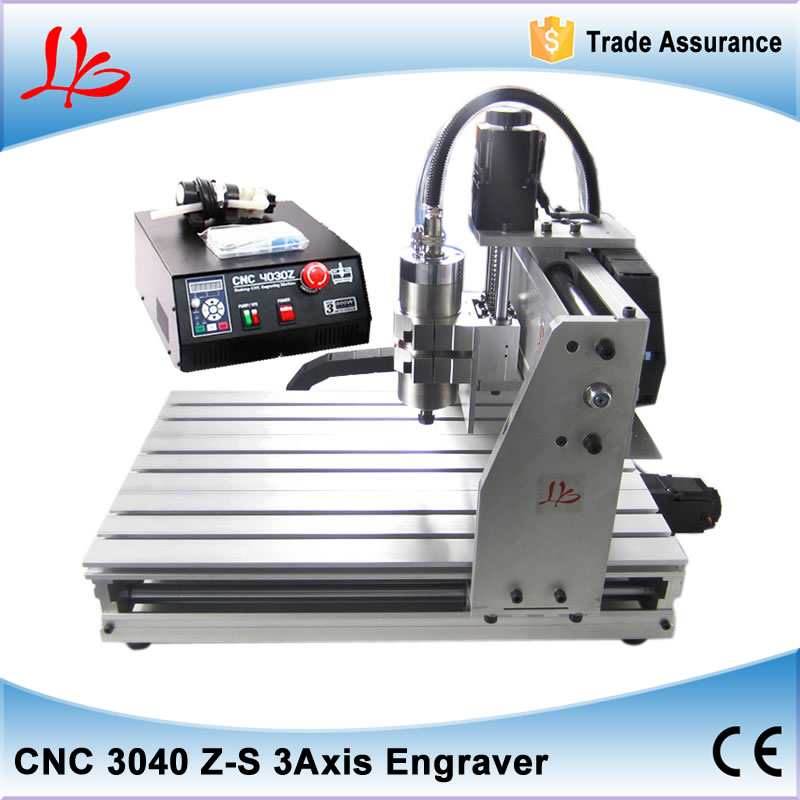 CNC stone engraving machine CNC 3040 800W Mini CNC milling machine with Ball Screw For Woodworking