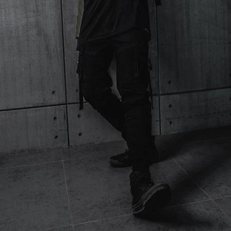 Primavera Los Marca Nuevos Carga Negro Haz Black La Hombres De Casuales Verano Y Pantalones Original Marea Oscuro qng0IxwEH