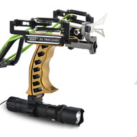 Laser Slingshot G5 Hunting Accessories Fishing Slingshot Shooting Catapult Bow Arrow Rest Bow Powerful Sling Shot