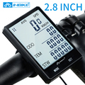 INBIKE 2.8'' Large Screen Bicycle Computer Wireless Bike Computer Rainproof Speedometer Odometer Cycling Measurable Stopwatch