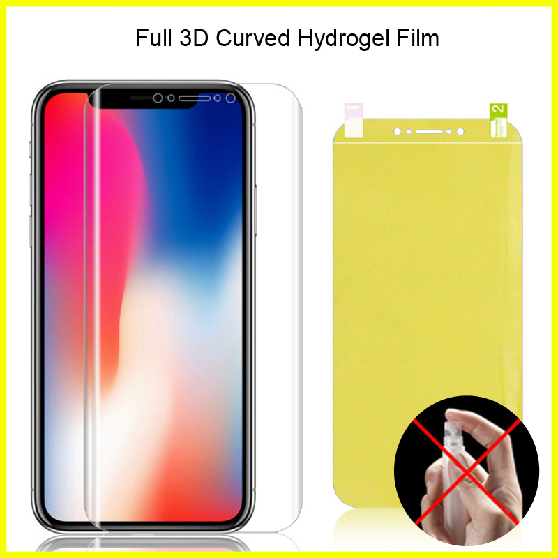 Full Coverage For Asus Zenfone Max Pro M2 ZB631KL Hydrogel Film Soft TPU Screen Protector For Asus Zenfone Max M2 ZB633KL Film