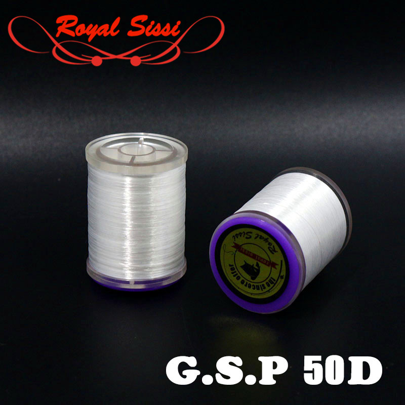 Hot 1 spool 400 yards G.S.P 50D polyethylene fly tying thread strongest fly fishing tying thread opening up split dubbing thread