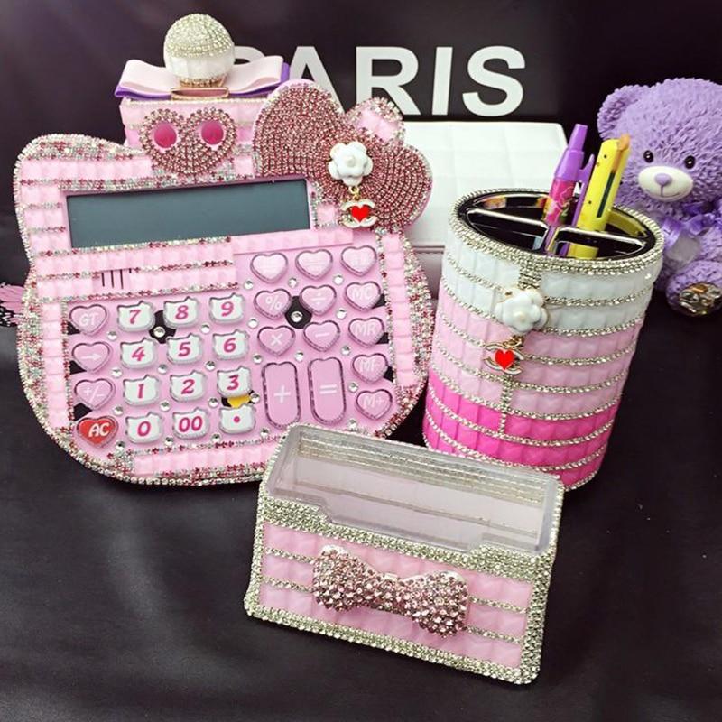 38868c9db Aliexpress.com : Buy 2018 New 12 digit pink cute hello kitty calculator  wholesale 17*18CM calculator no voice cute calculator from Reliable hello  kitty ...