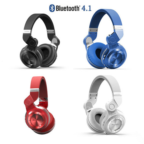ФОТО New 100% Original Bluedio Foldable T2 Bluetooth 4.1 Wireless Stereo Headphones Headset
