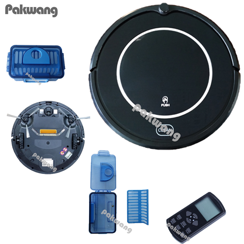 Multifunctional Vacuum Cleaning Robot Sweep Vacuum Mop Sterilize LCD Touch Screen Schedule Window Cleaning Robot