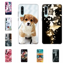 For Huawei P30 Case Ultra-slim Soft TPU Silicone P 30 Back Cover Cute Animal Patterned Coque Shell