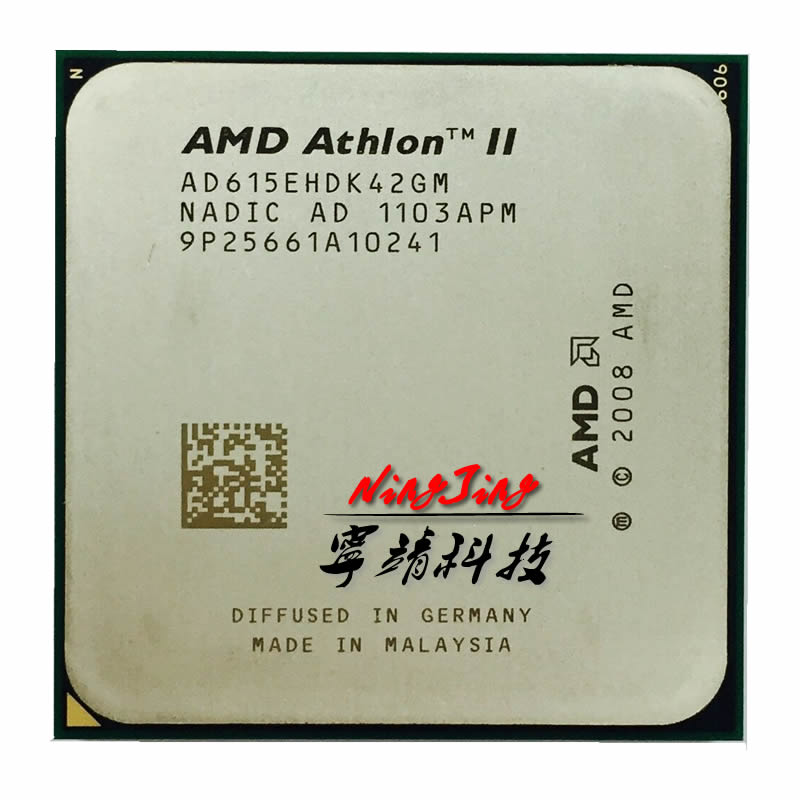 AMD Athlon II X4 615e 615 2 5 GHz Quad Core CPU Processor AD615EHDK42GM Socket AM3