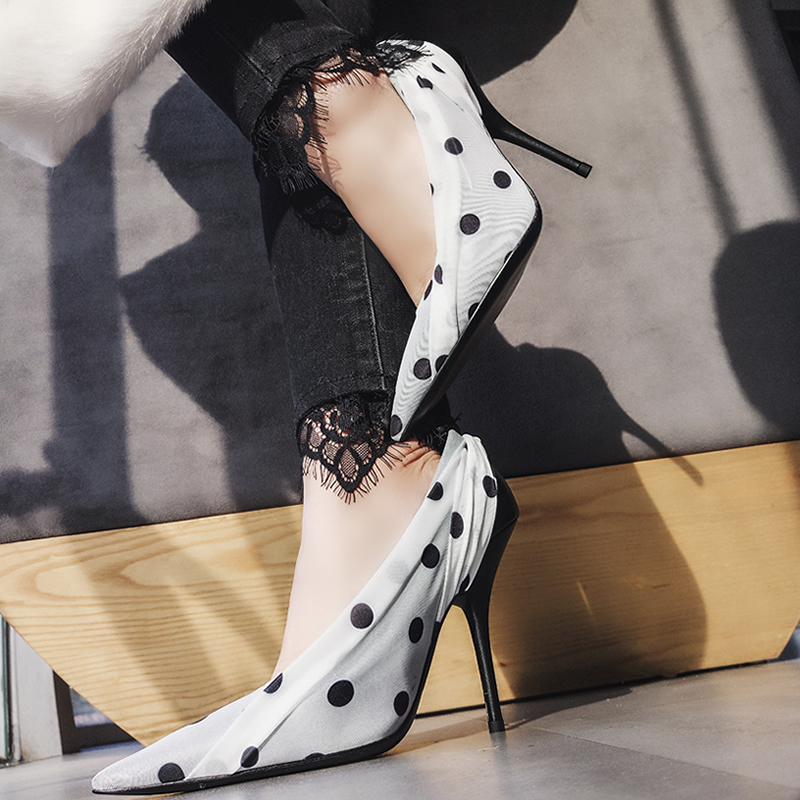 2018 Hot Spring Summer Shoes Woman Sexy High Heels Pumps Pointed Toe Shallow Slip On Pumps Design Runway Woman Party Pumps Tide 5 color for triumph triple 2011 2013 daytona 675 r 11 12 speed triple r 12 13 folding extendable brake clutch levers motorcycle