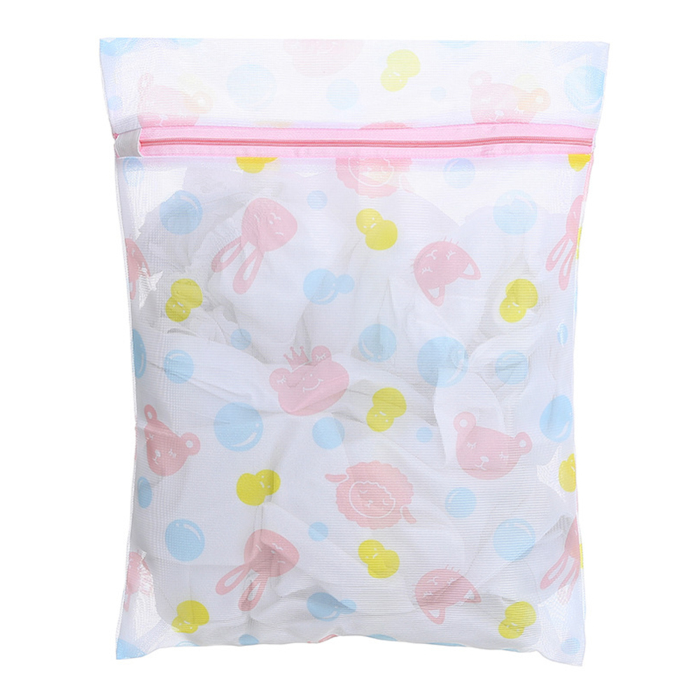 5pcs Clothes Washing Machine Laundry Bra Aid Lingerie Mesh Net Wash Bag Pouch Basket Femme Zipper Laundry Bag 2019 Original