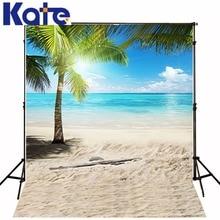 Kate 8.5×8.5ft ensolarado foto cenários de fotografia de casamento novo da chegada praia palm tree foto fundo do estúdio fundo prop lk 2299