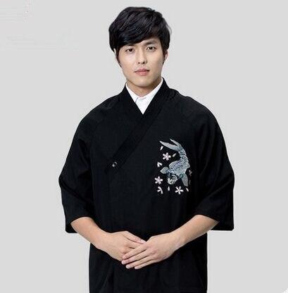 Uniforme de cuisine de chef japonais, uniforme du chef japonais vêtements de chef uniforme de cuisine housse de cuisine