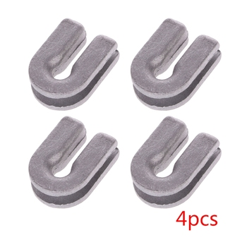 4Pcs/set Silver Durable Trimmer Head Eyelets of High Quality Aluminum For Strimmer Brush Cutter Replacement - discount item  18% OFF Garden Tools