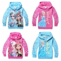 new girls hoodies with zipper long sleeve cotton baby girls sweatshirts kids children jacket coat outerwear babymmclothes