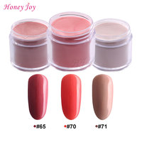 3pcs 28g Box New Red Arrival Colors Dipping Powder Without Lamp Cure Nails Dip Powder Summer
