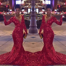 Kroisendybridal DZW115 Mermaid Evening dresses Long Sleeve