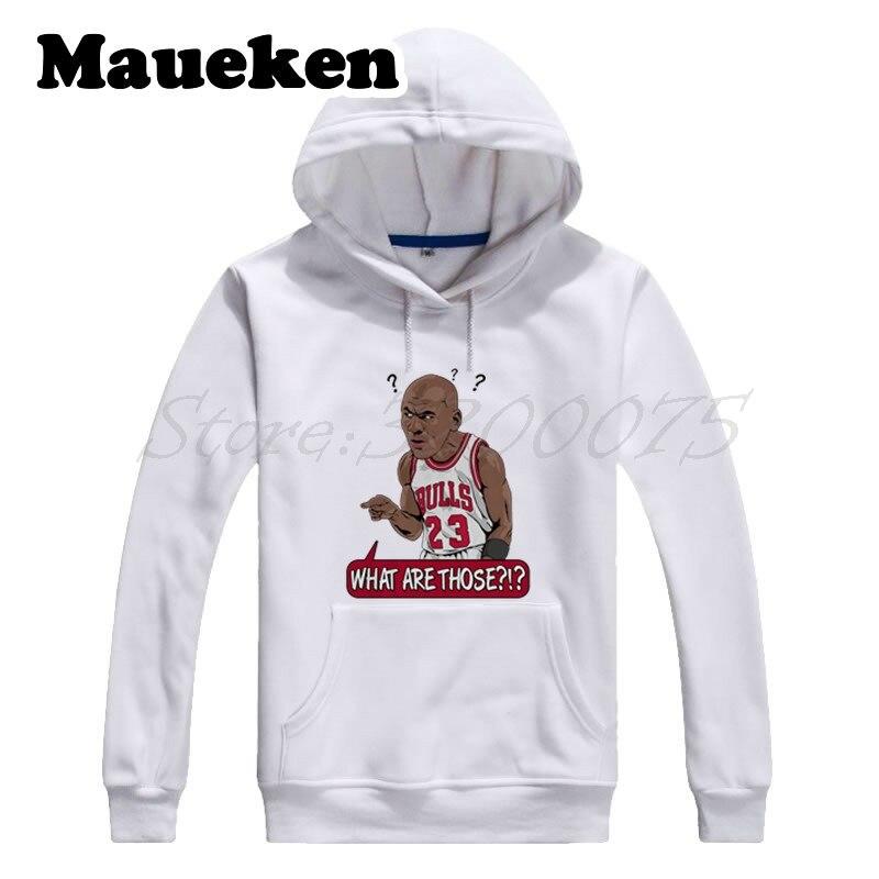 € 27.46 |Sweat à capuche homme c'est quoi ça? #23 Michael Jordan dieux légende Sweatshirts à capuche épais automne hiver W17100916 in Hoodies et Pulls