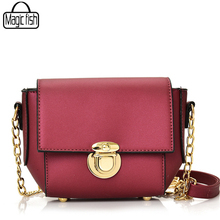 Famous Designer Women Bag Chain Solid Women Leather Handbags Mini Lady Shoulder Bag Fashion Casual Woman Messenger Bags A184/l