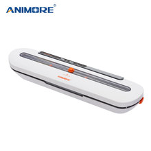 ANIMORE Food Vacuum Sealer For Food Saver Household Vacuum Sealer With 10pcs Vacuum Bags Free Sealing Machine VFS-05