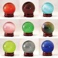 Precio al por mayor 10 color Mexicano opal esfera crystal gato de ojos de la bola redonda de 40mm de alto grado envío gratis decorar joyería B864