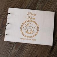 Elephant Baby Shower Guestbook, Gender Neutral Baby Shower Guest Book, Guest Sign In, Nursery Art,