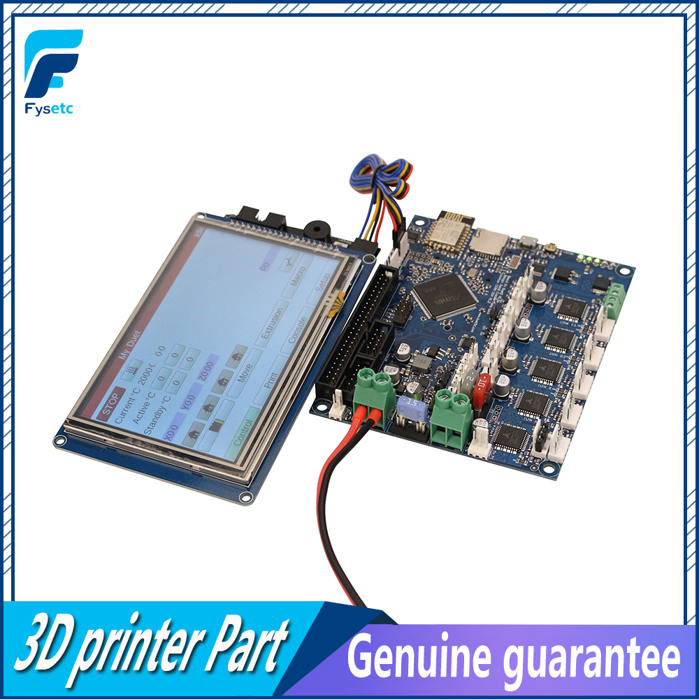 Dernière Version Duo 2 Wifi V1.04 Clonés DuetWifi Avancée 32 Peu Électronique Avec 4.3 5 7 PanelDue écran tactile Contrôleur