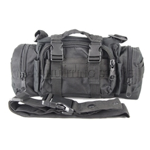 Army Military Tactical Outdoor Waist Day Pack Shoulder Bag Molle Camping Hiking Pouch 6L