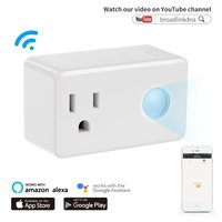 Smart Plug with Night Light Wi Fi Mini Outlet No Hub Required Remote Control Your Devices From Anywhere White SP3 US Works Alexa