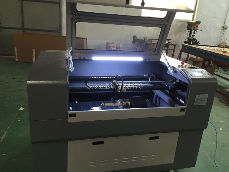 cheap price wood acrylic CO2 laser engraving machine 9060 mini portable co2 laser engraving machine price for metal paper wood acrylic