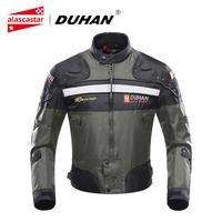 DUHAN Motorcycle Jackets Men Riding Motocross Enduro Racing Jacket Moto Jacket Windproof Motorbike Clothing Protective Gear