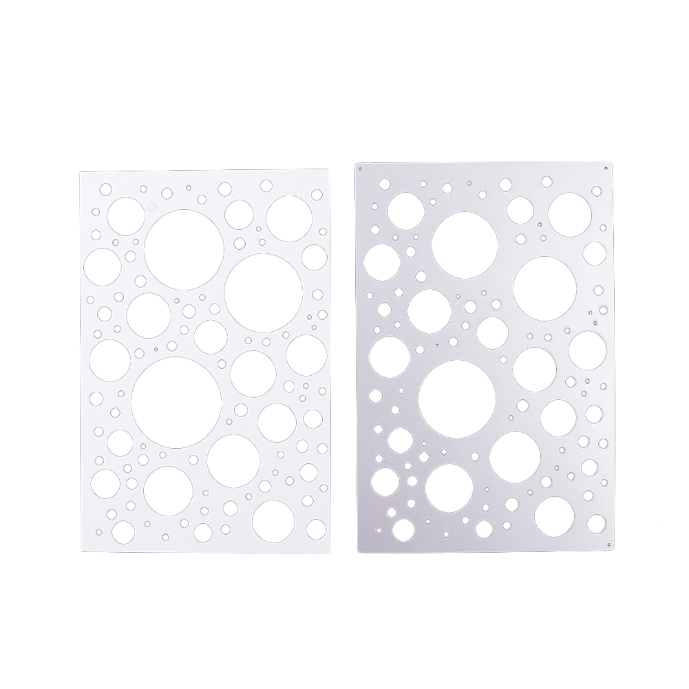 Metal Cutting Dies Dot Frame Design Background Embossing Template ...