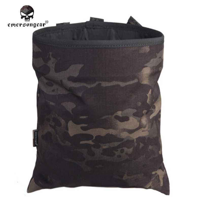 Black Articoli 500d Nylon Emersongear Goccia desert Di multicam Digital Del Arid Riciclaggio coyote multicam foliage multicam Brown Vari Em6032 jungle Green olive Borse Sacchetto Tactical Digital Magazine 500d Black Tropic Airsoft atacs Militare Caccia Cgvq0Z