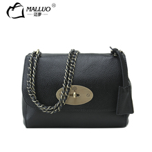 Malluo frauen taschen vollrindleder damen einzelner schulterbeutel schöne reine leder multifunktions klassische beiläufige handtaschen