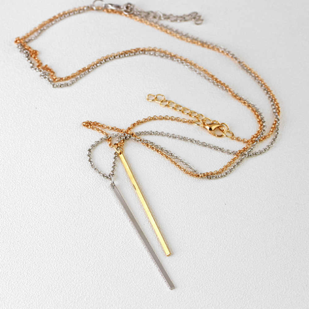 Stijlvolle Wild Ketting Vrouwen Kleding Accessoires Ketting Sleutelbeen Ketting Hoge Kwaliteit Luxe Lange Hanger Ketting LX48 L0325