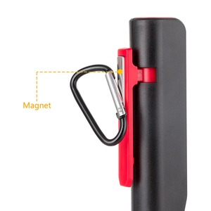 Image 4 - COB LED Flashlight Emergency Working Light With Magnet Pocket Clip Camping Light Built In Battery Multi purpose LEDs Penlight