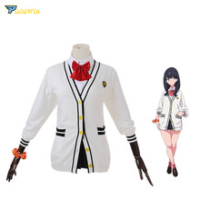 SSSS.GRIDMAN Takarada Rikka Cosplay Costume Denkou Choujin Gridman Uniform Set Outfit Cosplay недорого