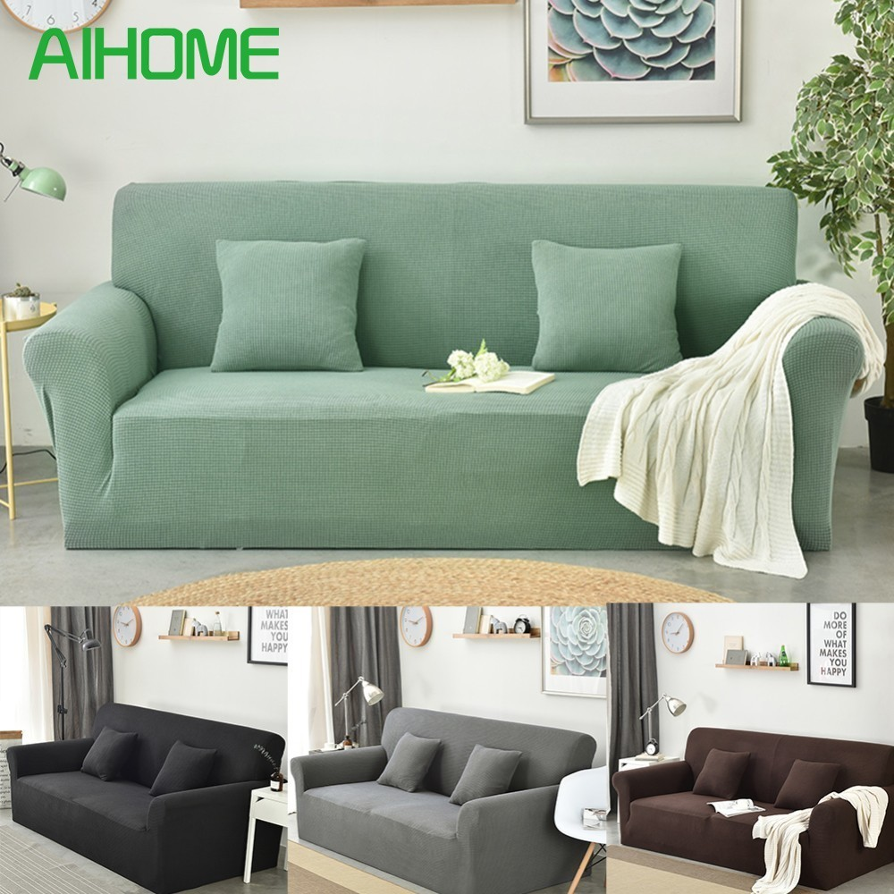 Stupendous Us 28 84 34 Off Thickened Japanese Style Stretch Fabric Slipcover For Chair Loveseat Sofa Spandex Couch Sofa Covers Protector For 1 2 3 Seater In Ncnpc Chair Design For Home Ncnpcorg