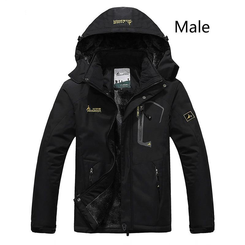 2017 hommes hiver intérieur polaire veste imperméable Sport de plein air chaud marque manteau randonnée Camping Trekking ski hommes vestes femmes