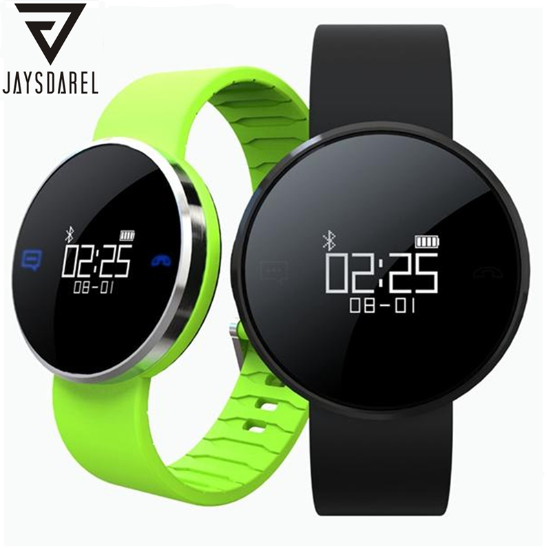 JAYSDAREL Heart Rate Monitor Smart Watch UW1S OLED Hand Raise Light Up Waterproof IP67 Bracelet Smart Wristwatch for Android iOS free shipping smart watch c7 smartwatch 1 22 waterproof ip67 wristwatch bluetooth 4 0 siri gsm heart rate monitor ios