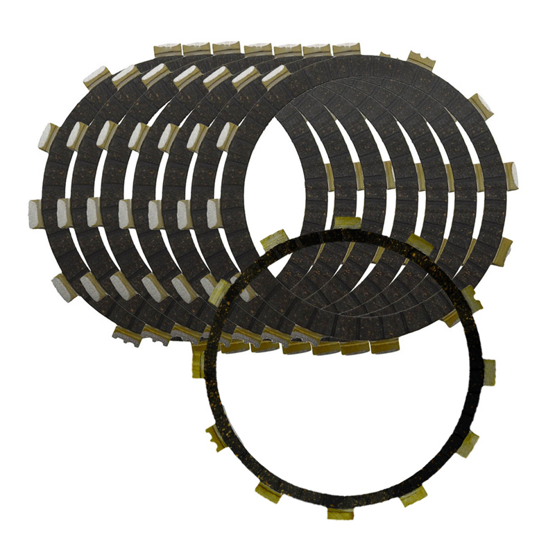 8pcs Motorcycle Clutch Friction Plates Set For YAMAHA VMX1200 V-Max 1200 VMAX1200 VMX12 1988-2007 a set friction plates paper based plate motorcycle parts clutch plates friction discs for yamaha t max 500 tmax500 t max500