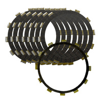8pcs Motorcycle Clutch Friction Plates Set For YAMAHA VMX1200 V Max 1200 VMAX1200 VMX12 1988 2007