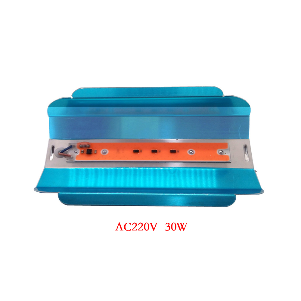 Full spectrum LED COB 30W 40W 80W AC220V Smart IC NO driver Grow Light Plant Growth Lamp Planting Flowers Vegetables Fruits