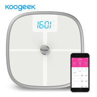 Koogeek Smart Scale Bluetooth Wi-Fi Health Body Weight Scale Sync Measure Muscle Bone Mass BMI BMR Body Fat Water Bathroom Scale Home Automation Modules