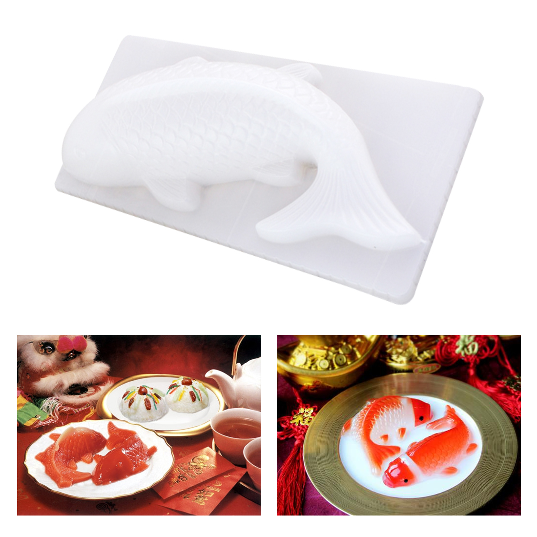 Great Cheap 3D Koi Fish Shape Cake Chocolate Sugar Mold Fondant Stencils  Decorating Tools Kitchen Gadgets-in Cake Molds from Home & Garden on ...